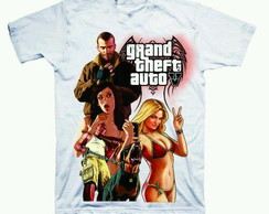 Camiseta estampada GTA