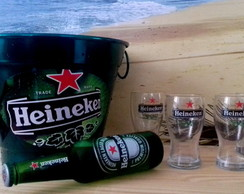 Kit Home Bar Cerveja Heineken