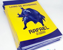Mini Livro de colorir Batman