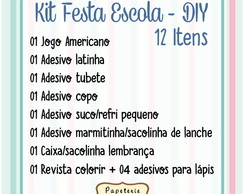 Kit Festa Escola DIY