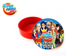 Latinha DC superhero girls