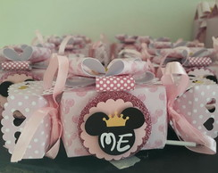 kit Minnie Princesa Rosa