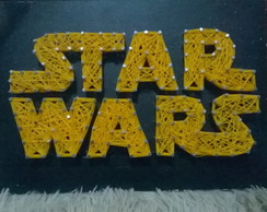 Quadro Star Wars- String Art