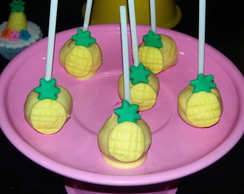 Cakepops abacaxi