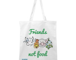 Ecobag Friends Not Food