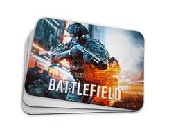 Mouse Pad Gamer - Battlefield 01