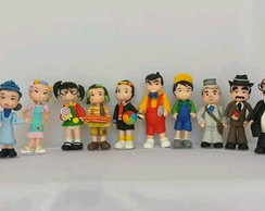 Turma do chaves de biscuit