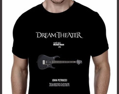 Camiseta Rock Dream Theater Guitarra John Petrucci