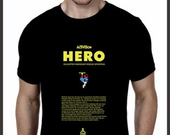 Camiseta Geek Games HERO Atari