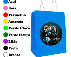 Kit 30 Sacolas Personalizadas Harry Potter