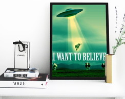 Poster 1329 i want to beleave - 30x40cm