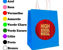 Kit 30 Sacolas Personalizadas High School Musical