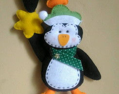Móbile de Natal com Pinguins