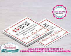 Arte Digital tag Bodas - Rubi