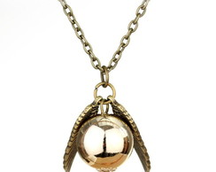 Colar Pomo de Ouro - Harry Potter