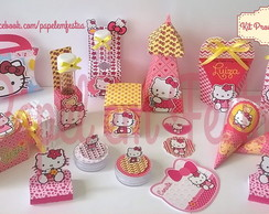 Kit Festa Pronta Silhouette Hello Kitty 1
