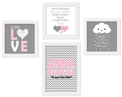 Kit de Quadros Infantis- LITTLE LOVE