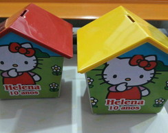 Casinha cofre - Hello Kitty
