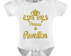 Body Infantil Princesa do Reveillon