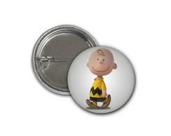 Botton Charlie Brown - 2,5cm
