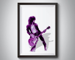 Quadro Jimmy Page Led Zeppelin
