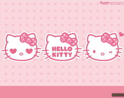 Painel Hello Kitty 2,50 x 1,50m
