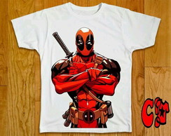 Camiseta HQ Deadpool - 01