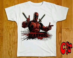 Camiseta HQ Deadpool - 04