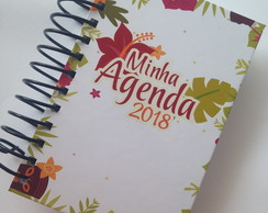Agenda de bolso 2018 tropical