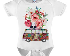 Body Infantil Kombi Peace