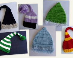 KIT COM 8 GORROS - Newborn