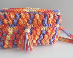 CLUTCH DE CROCHÊ COLOR