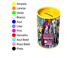 Kit 30 Cofrinhos Personalizados Monster High