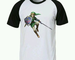 Camiseta legend of zelda Raglan