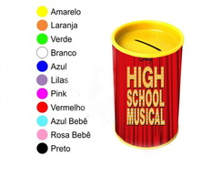 Kit 30 Cofrinhos Personalizados High School Musical
