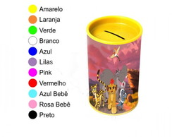 Kit 30 Cofrinhos Personalizados A Guarda Leão