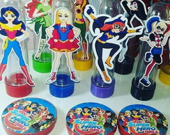 Kit Festa Super Hero Girls