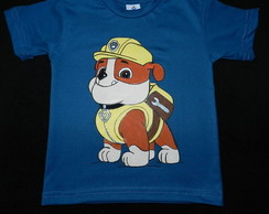Camiseta Patrulha Canina-RUBBLE