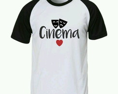 Camiseta Cinema raglan