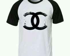 Camiseta chanel raglan