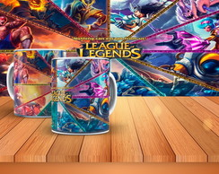 Caneca - League of Legends 2