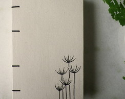 Caderno Flores (tipo bullet journal)