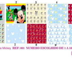 Estampa para Costura Criativa MINNIE MICKEY