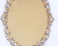 Placa decorativa Oval - BLACK WEEK