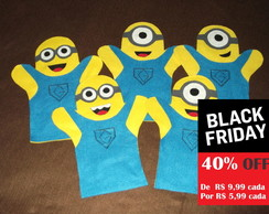 Lembrancinha Fantoche Minions BLACK FRIDAY