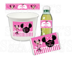 Kit Cinema - Minnie Mouse Rosa