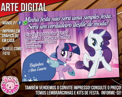 Convite My Little Pony 5 (Digital)