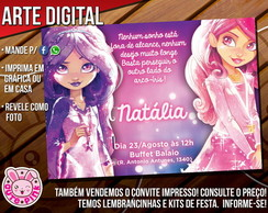 Convite Star Darlings 2 (Digital)