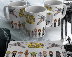 Caneca Porcelana Star Wars