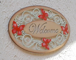 Placa Welcome mod2 3mm